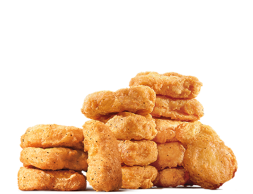 Chickennuggets alot