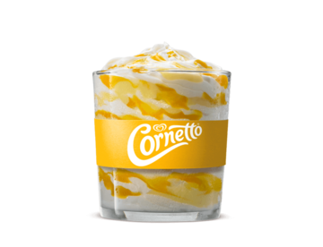 Bk fuison cornetto buttermilk lemon