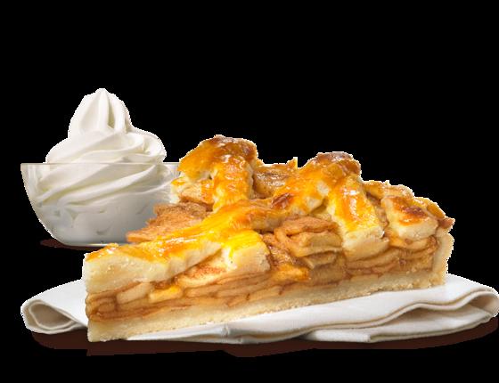 Bk apple pie w icecream